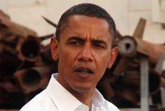 贝拉克・奥巴马参观向以色列 免版税库存图片