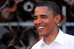 贝拉克・奥巴马参观向以色列 免版税库存照片