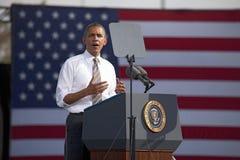 贝拉克・奥巴马总统 库存照片