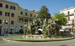 拉努维奥Albani小山,意大利 免版税库存图片