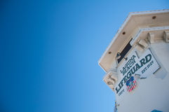 拉古纳海滩救生员 库存图片
