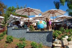 拉古纳海滩的,加利福尼亚餐馆 免版税图库摄影