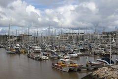 拉各斯小游艇船坞,拉各斯,阿尔加威,葡萄牙 免版税库存照片
