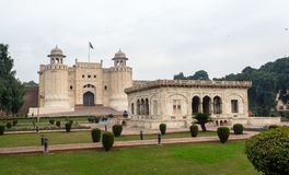 拉合尔堡在巴基斯坦 库存照片