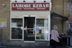 拉合尔KEBAB餐馆 免版税图库摄影