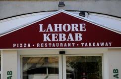 拉合尔KEBAB餐馆 图库摄影
