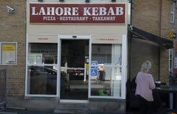 拉合尔KEBAB餐馆 免版税库存图片