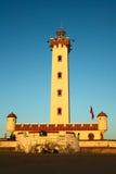 拉塞雷纳灯塔,智利 免版税库存图片