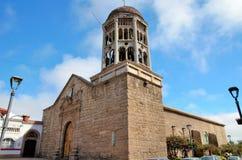 拉塞雷纳的,智利教会圣多明哥 免版税图库摄影