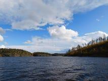 拉多加湖 免版税库存图片