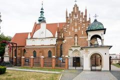拉多姆- Bernadine教会,修道院 库存照片