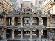 拉妮ki vav印度世界遗产名录站点  库存图片