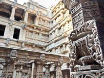 拉妮ki vav印度世界遗产名录站点  库存照片