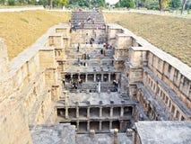 拉妮ki vav印度世界遗产名录站点  免版税库存照片