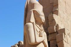 拉姆西斯雕象II 库存图片