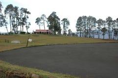 拉尼凯特, Uttarakhand,印度高尔夫球场  免版税库存照片