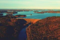 拉尼尔溢洪道 免版税库存照片