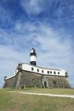巴拉岛萨尔瓦多巴西灯塔 库存照片