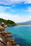 巴拉岛da Lagoa -弗洛里亚诺波利斯-巴西 免版税库存图片
