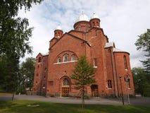 拉彭兰塔教会 库存照片