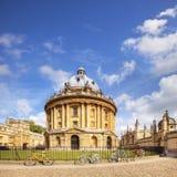 拉德克利夫照相机牛津英国 库存照片