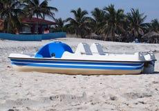 巴拉德罗角古巴小船  库存图片