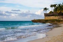 巴拉德罗角古巴海滩 免版税库存照片