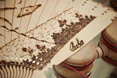 从巴拉德罗角古巴的手工制造纪念品 库存图片