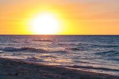 巴拉德罗角海滩 免版税图库摄影