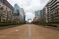 巴黎 拉德芳斯广场 图库摄影