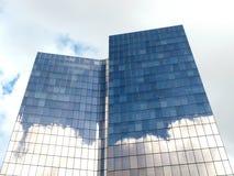 拉德芳斯摩天大楼8111,巴黎,法国, 2012年 免版税库存图片