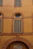 费拉拉历史建筑 库存图片
