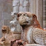 费拉拉,意大利建筑学 免版税库存图片