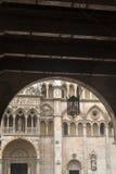 费拉拉(意大利),大教堂 库存照片
