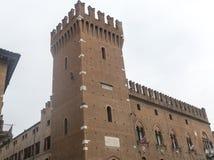 费拉拉(意大利) 库存照片