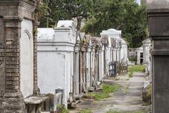 拉斐特公墓在新奥尔良 免版税库存图片