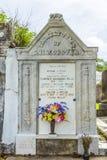 拉斐特公墓在新奥尔良 库存图片