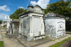拉斐特公墓,新奥尔良 图库摄影