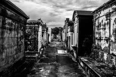 拉斐特公墓 免版税图库摄影