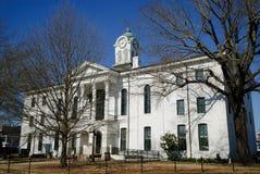 拉斐特市政厅在牛津,密西西比 免版税库存照片