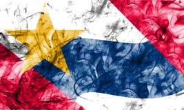 拉斐特市烟旗子,印第安纳状态, Ameri美国  免版税图库摄影