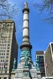拉斐特广场-水牛城,纽约 库存照片