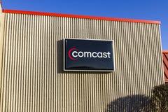 拉斐特-大约2016年12月:康卡斯特服务中心 康卡斯特是一家多民族大众传播媒体公司IX 图库摄影