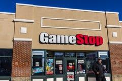 拉斐特-大约2016年12月:GameStop购物中心地点 GameStop是一个电子游戏和电子零售商IV 免版税库存图片