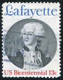 拉斐特 免版税图库摄影