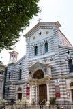拉斯佩齐亚地方教会,我们的雪的夫人教会  免版税库存照片