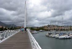 拉斯佩齐亚,意大利- 2016年6月15日:拉斯佩齐亚,意大利港口  库存照片