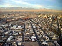 拉斯维加斯和沙漠看法  las内华达美国维加斯 免版税库存照片