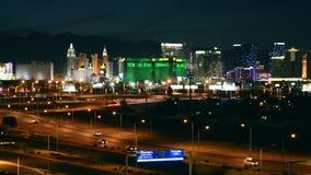 拉斯维加斯地平线城市 las内华达美国维加斯 影视素材