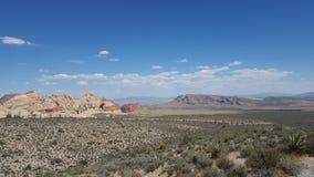 拉斯维加斯沙漠 免版税库存图片
